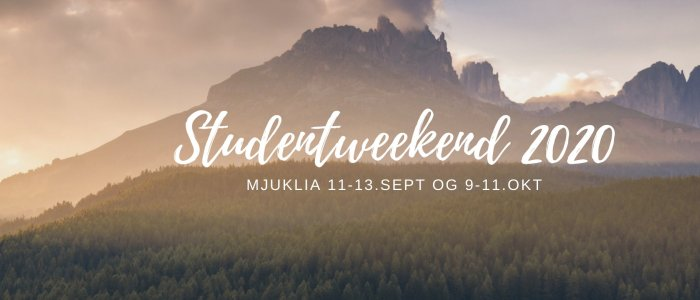 STUDENTWEEKEND '19! [Salem menighet]