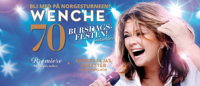 Wenche 70!