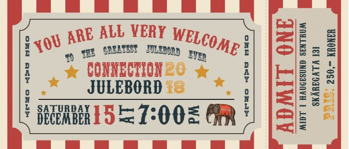 Connection Julebord 2018