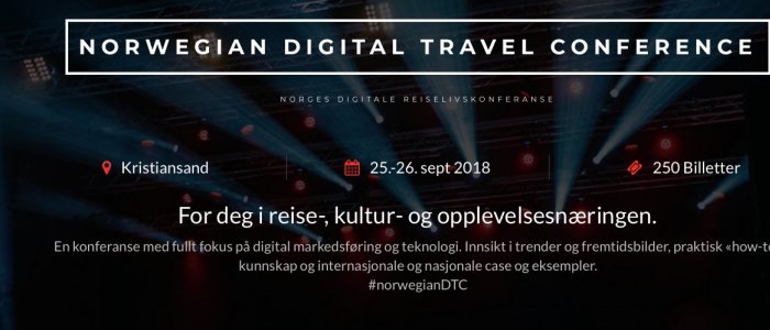 Norwegian Digital Travel Conference 2018